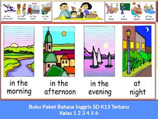Buku Paket Bahasa Inggris SD K13 Terbaru