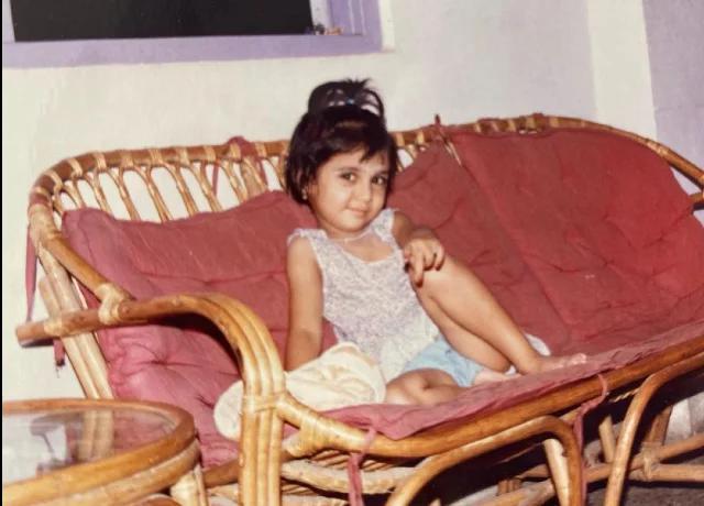 Prajakta Koli childhood photo