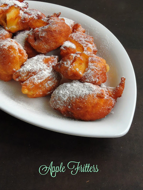 Fritters with Apple chunks, Apple fritters