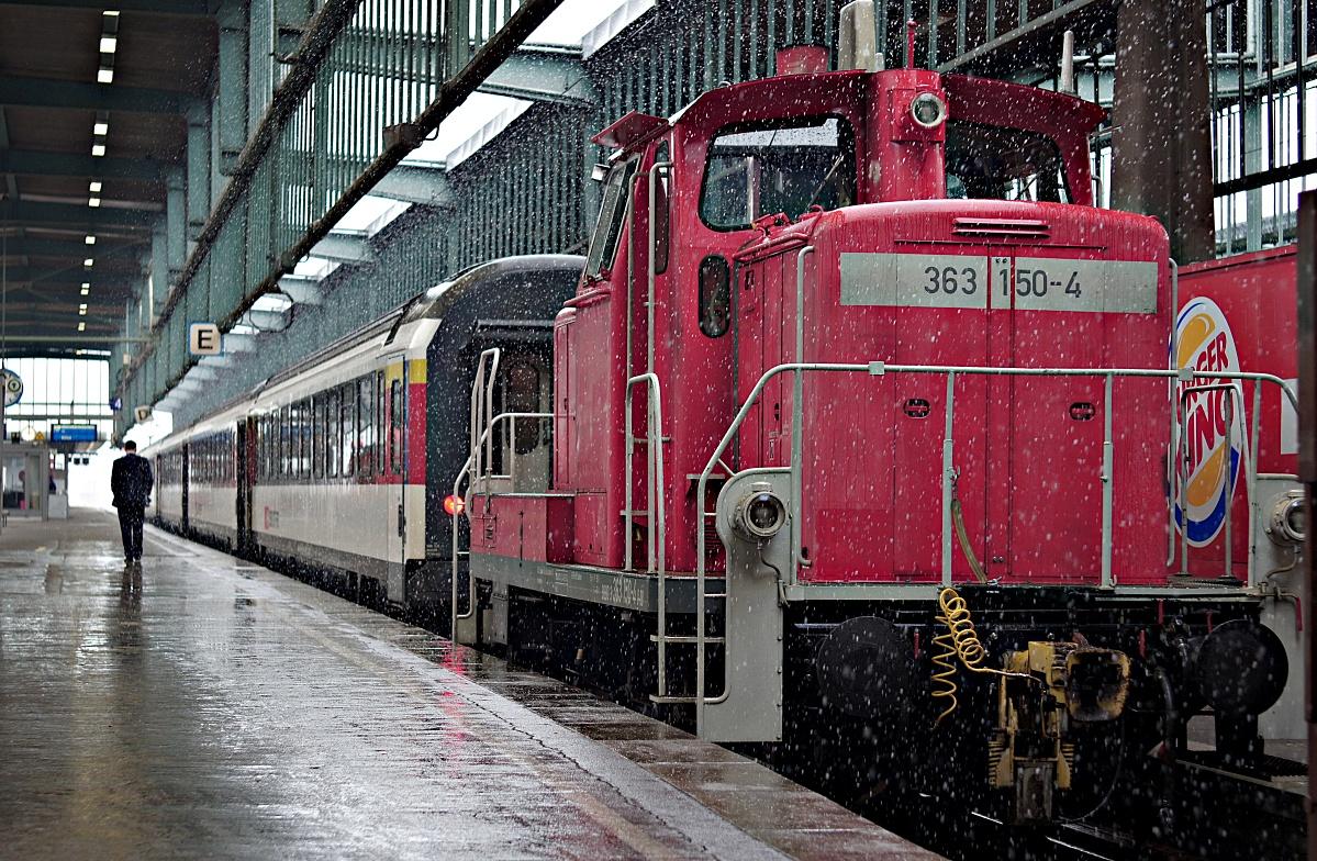 Alter Stuttgarter Kopfbahnhof in 6 Variationen