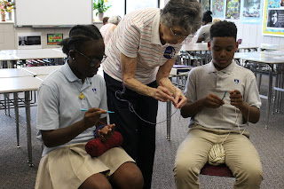 Montgomery Catholic Middle Schoolers Learn to Craft by Design 2