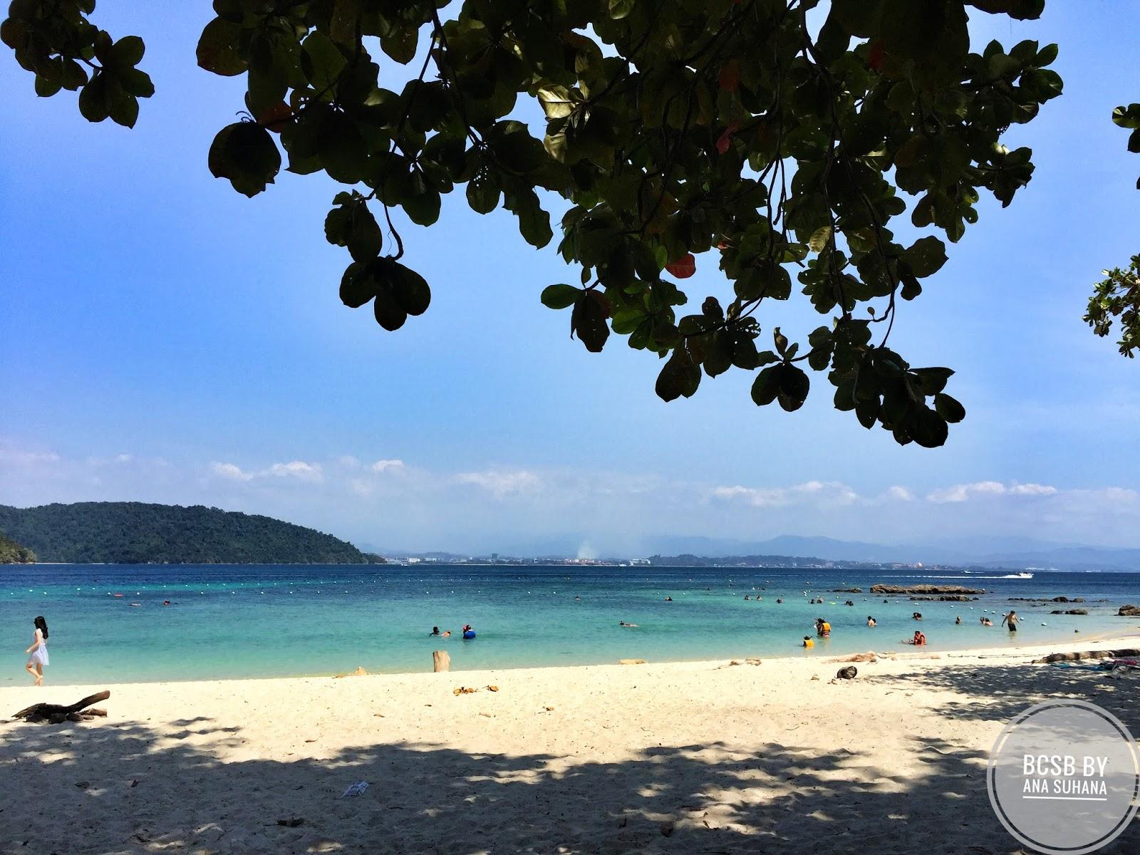 Bercuti di Sabah : Island Hopping di Tunku Abdul Rahman National Park