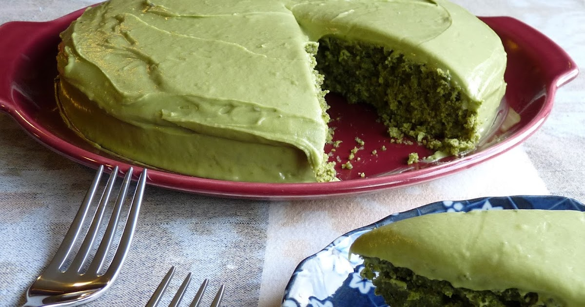 Seasonal Ontario Food: Spinach Cake with Matcha-Lime Frosting