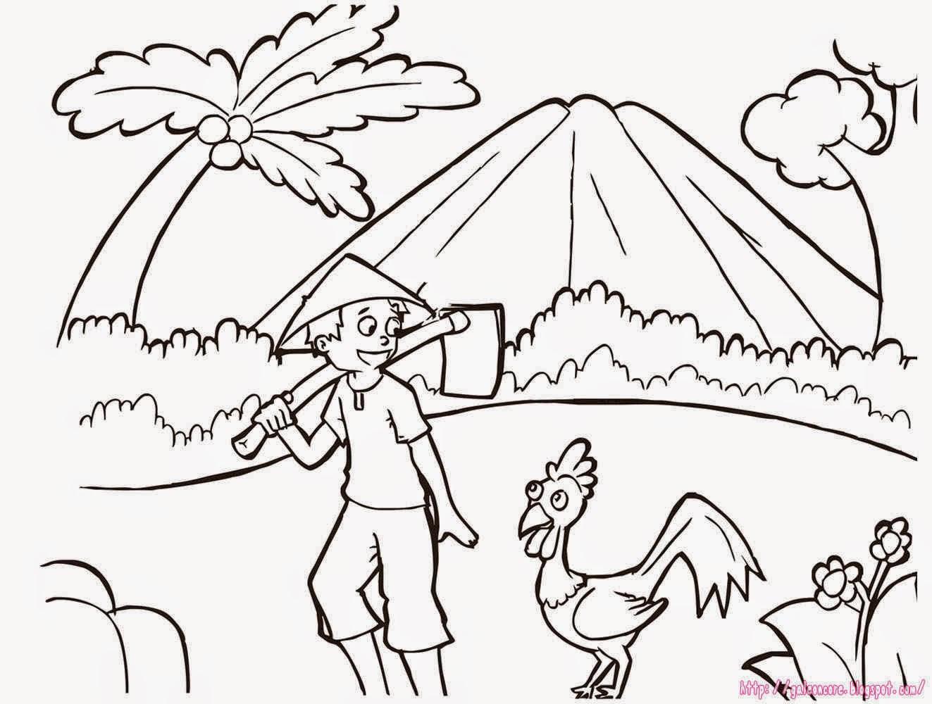 100 [ Gambar Kartun Anak Menyapu ]