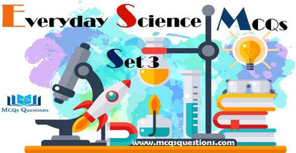 Everyday Science MCQs with Answers Set 3