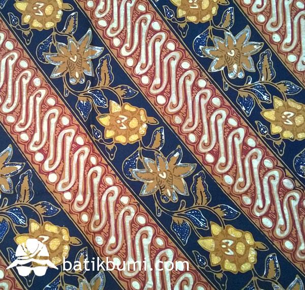 Batik TULIS komb. CAP motif Parang Seling
