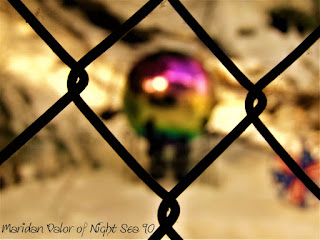 Photos of the new year; gazing ball