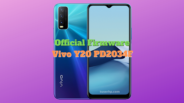 Firmware Vivo Y20 PD2034F