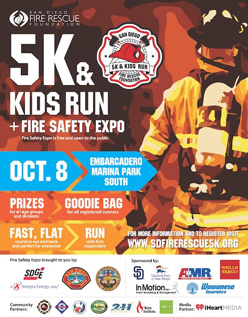 San Diego Fire Rescue 5K Kids Run & Fire Safety Expo