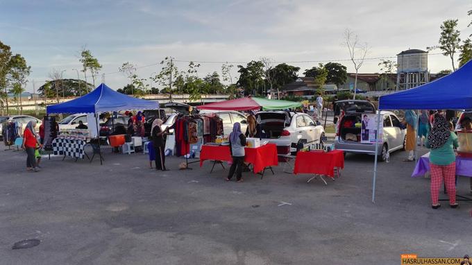 Car Boot Sale di Bandar Baharu, Kedah