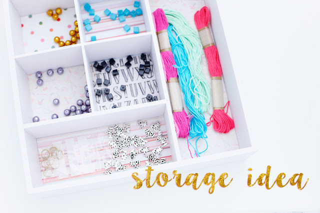 Aufbewahrungsbox Xenos Diy Craft Supplies Storage | Gossamer Blue Inspiration