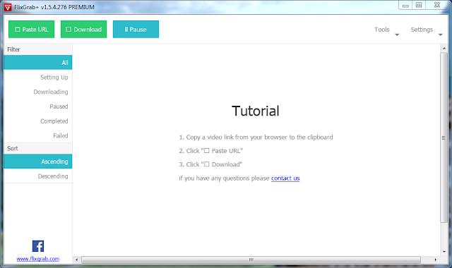 FlixGrab+ 1.1.7.21 Premium (NetFlix HD Downloader) For Computer GOPI SAHI