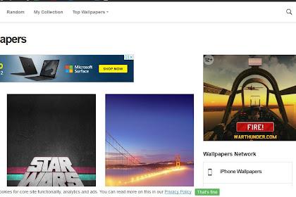 7 Website Download Wallpaper Android & Iphone HD Terbaik
