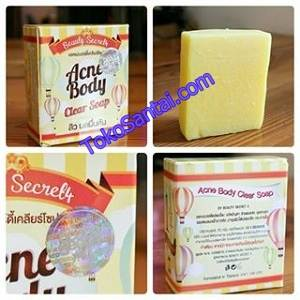 Acne Body Clear Soap Hologram