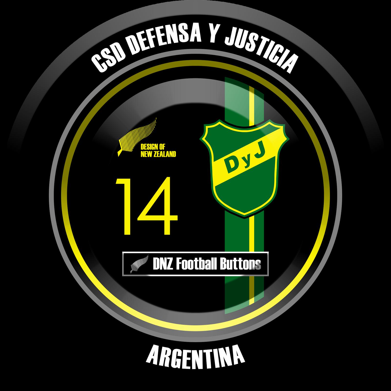 Dnz Football Buttons Csd Defensa Y Justicia