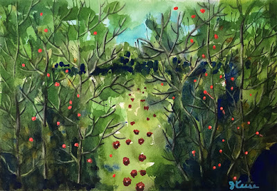 Enchanted Forest - Watercolor - JKeese