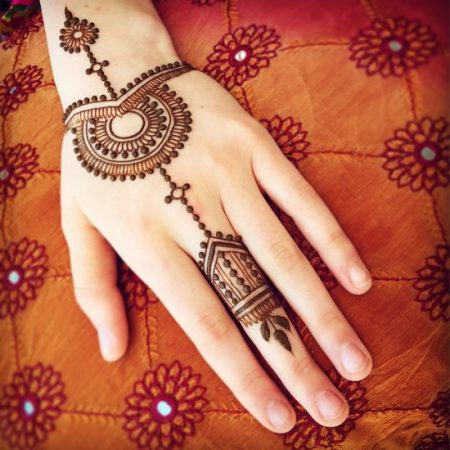Easy And Simple Mehndi Designs