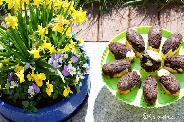 Marmor Kuchen Blume