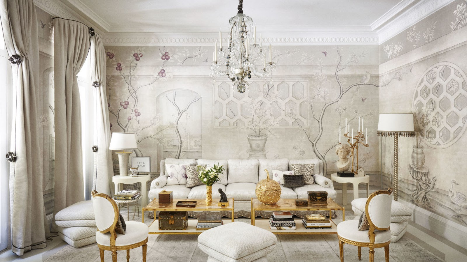 decorating-ideas-white-dining-room-design {cool chic style fashion}