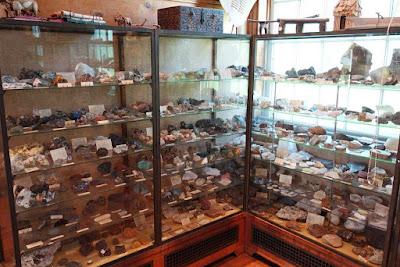 colección de minerales sistemática