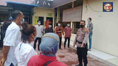 Polsek Percut Sei Tuan Amankan 7 Orang Remaja Terlibat Tawuran di Desa Saentis