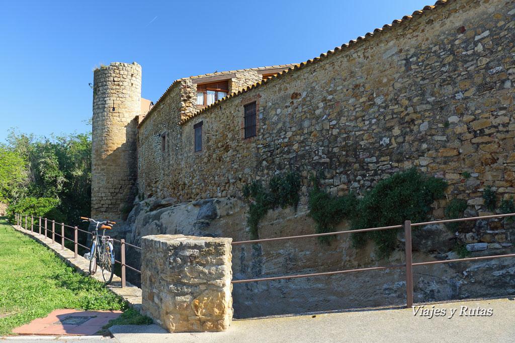 Torres y muralla de Peratallada