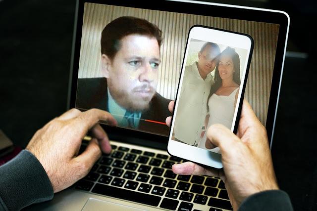 Casal de Inhapi, no sertão de Alagoas, relata experiência em casamento por videoconferência