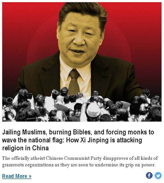 https://www.businessinsider.com/how-xi-jinping-is-attacking-religion-in-china-2018-11?nr_email_referer=1&utm_source=Sailthru&utm_medium=email&utm_content=Business_Insider_select&pt=385758&ct=Sailthru_BI_Newsletters&mt=8&utm_campaign=Business%20Insider%20Select%202019-08-03&utm_term=Business%20Insider%20Select