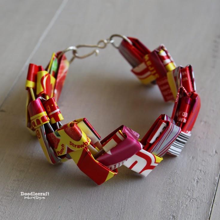 Candy Wrer Starburst Link Bracelet
