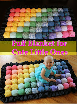 Cozy Puff Blanket for Kids