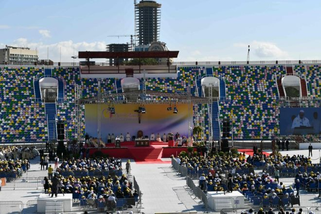 Orthodox Church snubs Pope Francis in Georgia