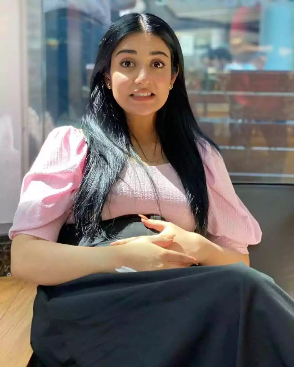 Sarah Khan signed a contract with the diaper brand before the arrival of her first child