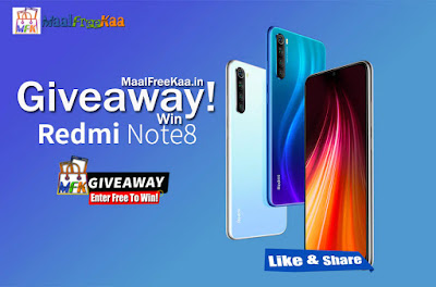 redmi note 8 giveaway