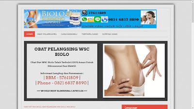 Website MLM Obat Pelangsing - obatdietwscbiolo.com