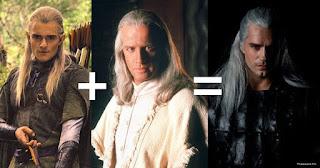 Photo comparaison Geralt de Riv