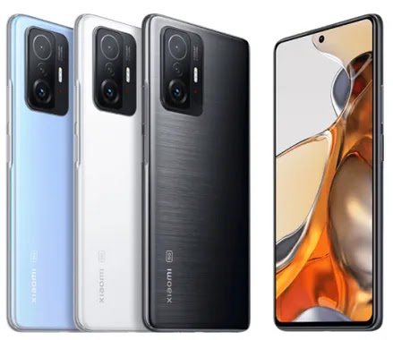 Xiaomi 11T, and 11T Pro with 120W fast charging