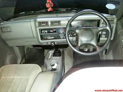 Model Desain Interior Opel Blazer