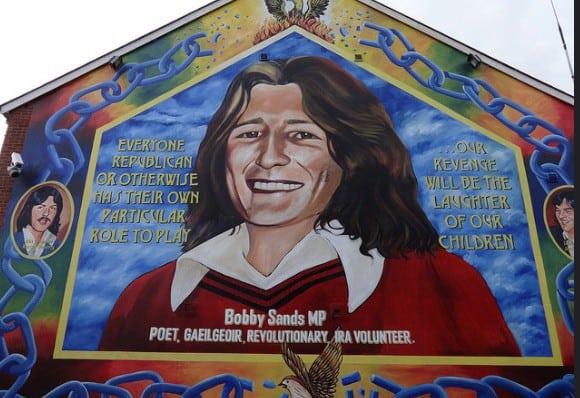 Catholic Neighborhood Mural Northern Ireland