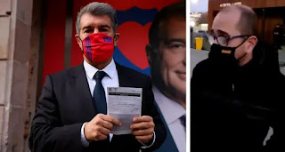Ex presidential candidate Farre confirms making mistake in his election strategy and will vote for Laporta