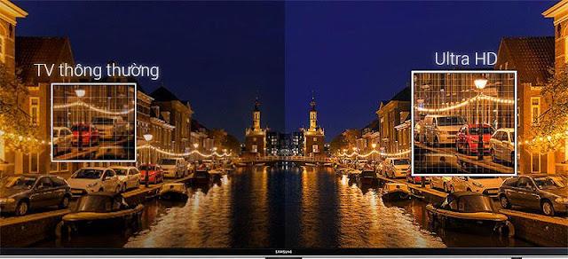 Smart Tivi Samsung 4K 55 inch UA55NU7400KXXV