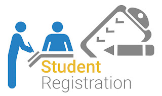 vector image about student registration