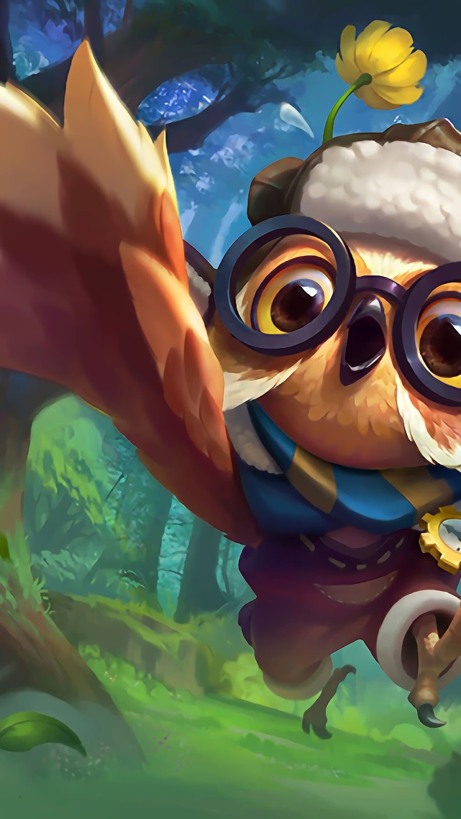 Wallpaper Diggie Timekeeper Skin Mobile Legends HD for Android and iOS