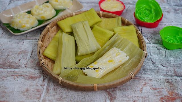 resepi lepat jagung, lemet jagung, pasi jagung,lepat jagung mudah dan sedap, cara buat lepat jagung, lepat, kuih warisan, kuih tradisional melayu,