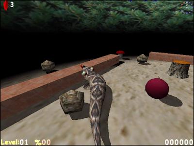 3D暴走貪食蛇(Axysnake),緊張刺激的立體益智動作遊戲!
