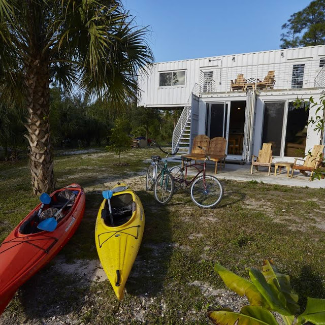 Headwaters Eco Retreat Shipping Container House, Florida 5