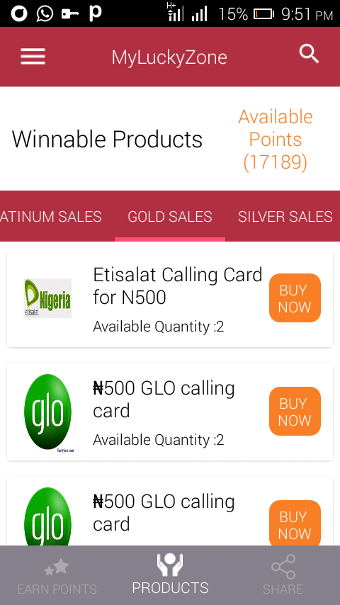 payment proof of Naira