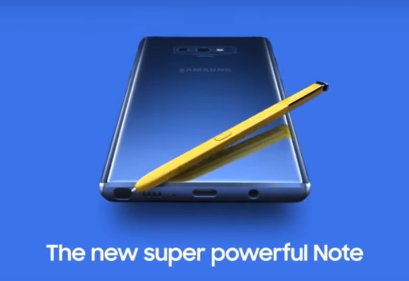 Leaked Samsung Galaxy Note9 Teaser Video Suggests Key Specs