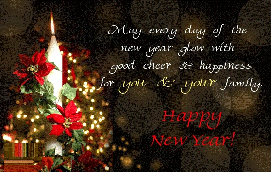 wish a happy new year greetings