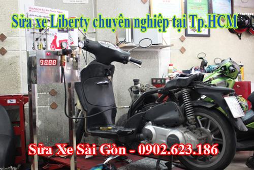Sửa xe Piaggio Liberty chuyên nghiệp tại TpHCM