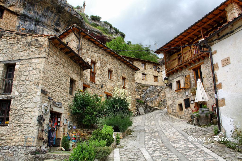 Calles de Orbaneja del Castillo